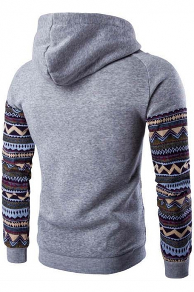 Casual Leisure Fashion Single Color Sleeve Long Hoodie Pocket Block with Hot xqtIgwaZq