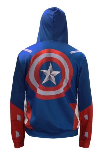 Fashion Long Sports Arrival Block Casual New Hoodie Color Sleeve qx45wnCa