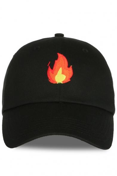 New Stylish Fire Print Outdoor Unisex Baseball Cap - Beautifulhalo.com 0822241689c