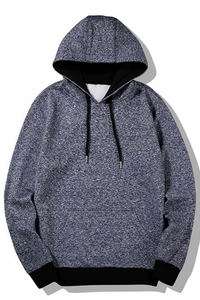 Hoodie Unisex Print Sleeve Long New Drawstring Hood Stylish Leisure pwUnTq8