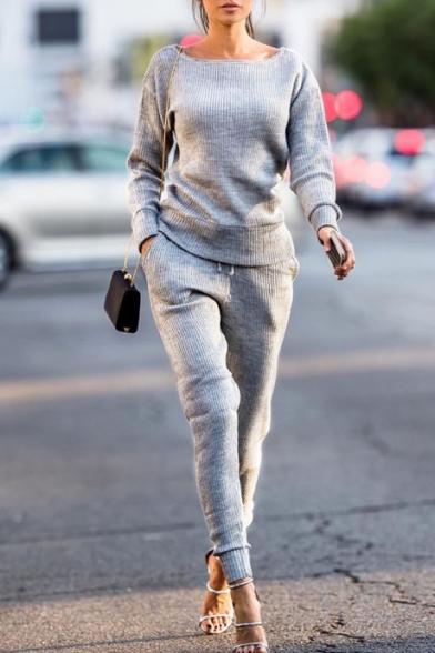 New Fashion Simple Leisure Plain Sports Co-ords