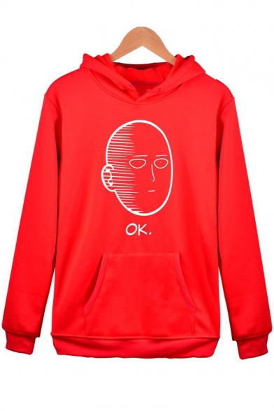 Long New Print Cartoon Fashion Sleeve Hoodie qaa0v8