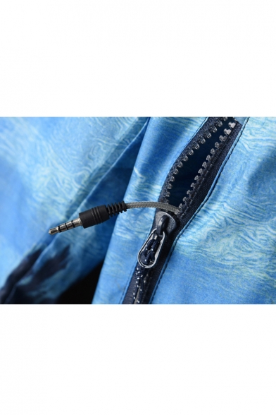 Zipper Long Leisure Fly New Fashion Sleeve Jacket wq5SSzOn