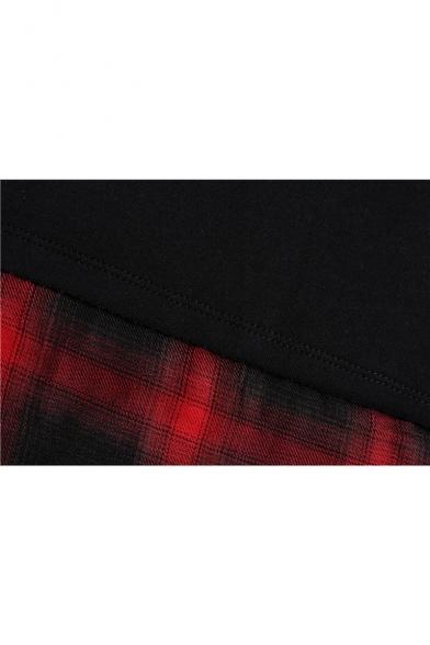 Stylish New Tee Sleeve Short Layered Neck Round TzrUx6T