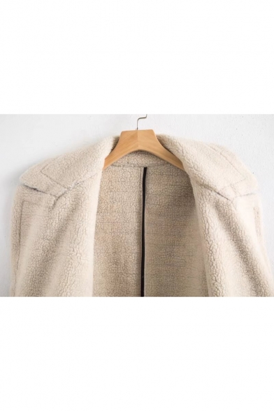 Stylish Notched Coat Lapel Sleeve New Long Plaid Classic vUFg5xwn