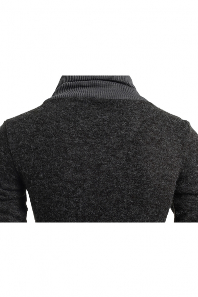 Sleeve New Long Stylish Sweater Pullover Turtleneck EOOaY
