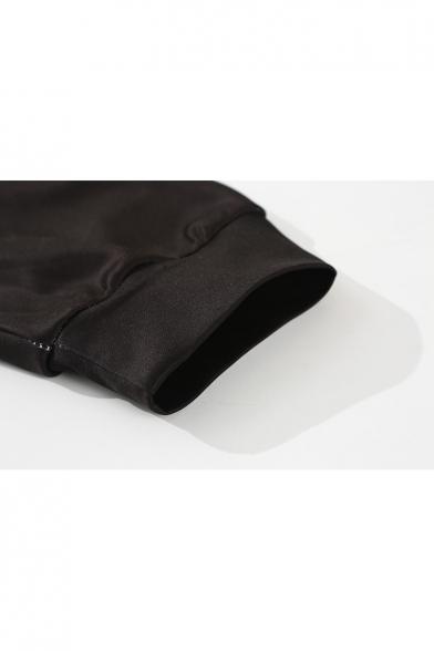 Loose Forest Hoodie Print Galaxy Sleeve Fashion Zipper Long PgwYYdq