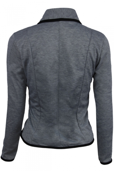 New Stylish Two Button Long Sleeve Leisure Blazer