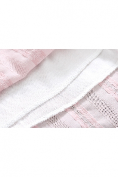 Dress Midi Drawstring Pattern Button Waist New Neck Round Front Arrival Floral Spring's v4FnCPHqwv