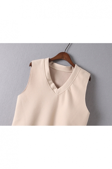 Dress Stylish Tank Simple Plain ords Co Beaded New Blouse Mesh 0dwYndBx