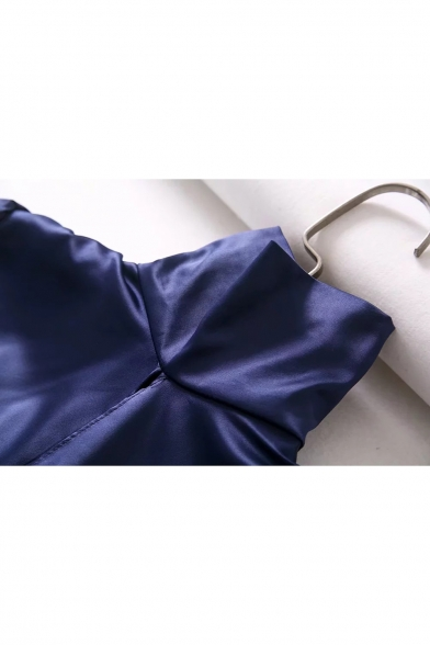 Fabulous Blouse High Tie Sleeves Blouson Neck Cutout Long Cropped Back Hollow Bow rrxdPqw