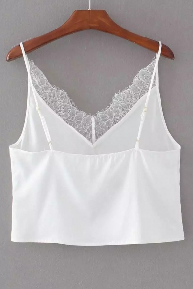 Plain Lace Summer Panel New Cami Simple Fashion 51R4wI
