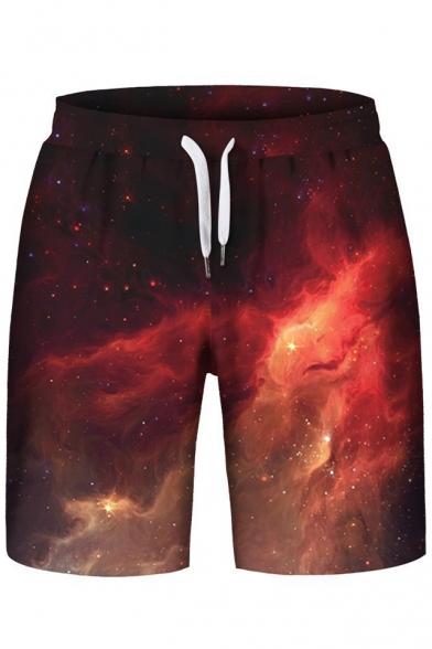 Sports Sleeveless Fashion with Print Hoodie Galaxy Hot Shorts nTwqtdYwFX