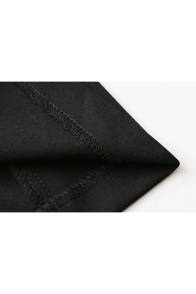 Hot Sale Notched Lapel Double Breasted Plain A-line Blazer Mini Dress