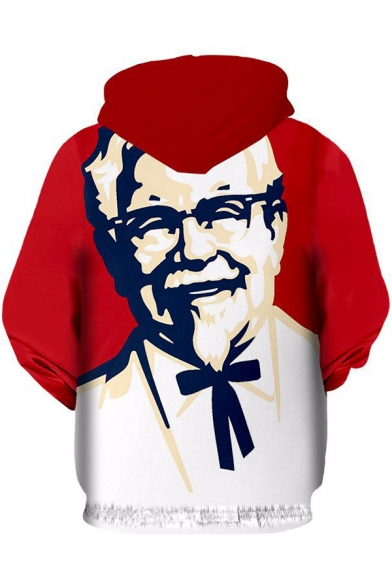 Cartoon Popular Hoodie Long Printed Hot Leisure Character Oversize Sleeve T5wdTq