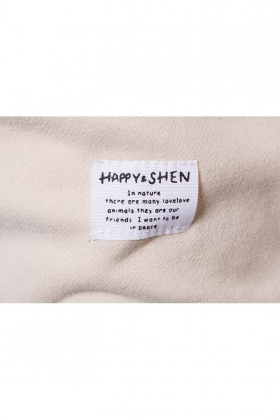 Hoodie Pocket Printed Hood Leisure Fashion Drawstring Embellished Original Back Letter SzxgUq