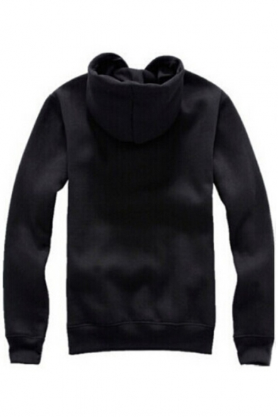 Hoodie Simple Long Pocket Leisure Sleeve Letter Printed with Sale Hot B0vqq
