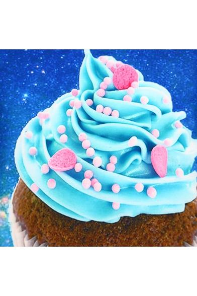 Loose Neck Printed Short Galaxy Cream Sleeve Round Tee Ice wSq0pR