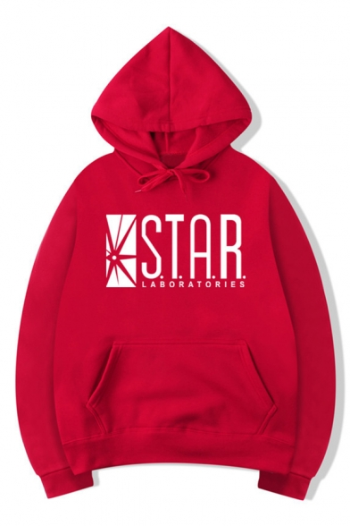 Leisure Sports STAR Graphic Printed Long Sleeve Hoodie
