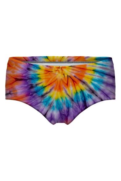 Tie Dye Printed Women's Underwear Panty