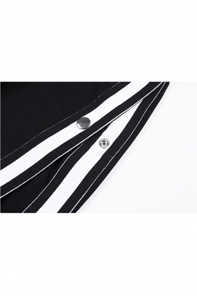 Contrast Braid Spaghetti Straps Sleeveless Bra with Drawstring Waist Loose Shorts Co-ords