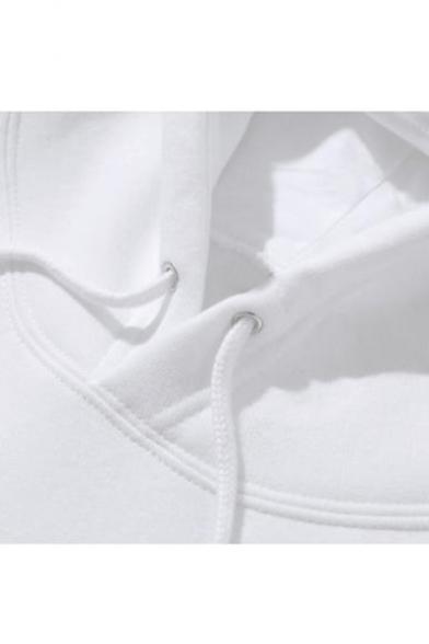 Sleeve Long HOWL Letter Japanese Hoodie Leisure Printed Uqx1Bxw8