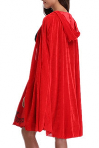 Hooded Series Halloween Plain Cape Loose pxqRCwq6n