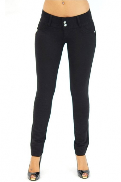 Women's Stretch Cotton,Butt Lift,Skinny Leg Pants