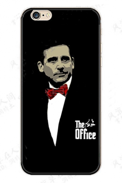New Popular THE OFFICE Godfather Printed Black Soft iPhone Case