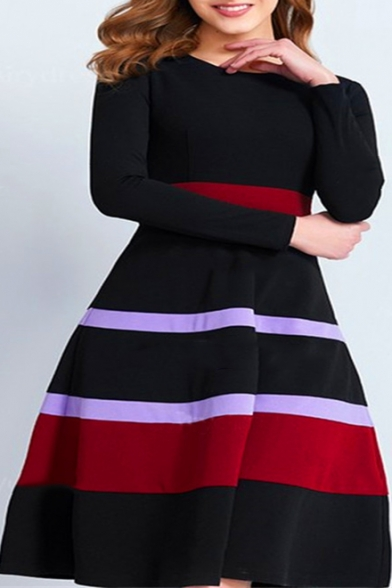 Bars 377 black dress - 3 2