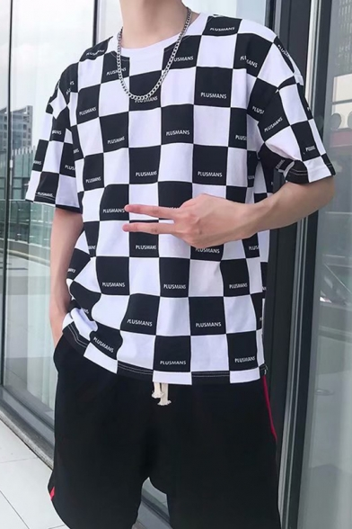 Popular Letter Checkerboard Pattern