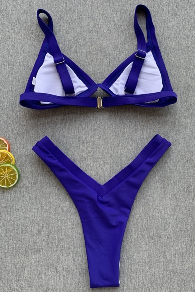 Women Summer Fashion Patchwork Beach Sexy Bikini Swimwear