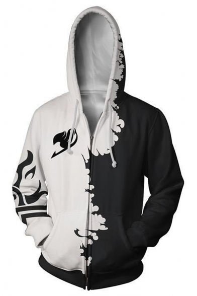 Dolphin Shirt Co Scary Halloween Tuxedo Zip-Up Hoodie