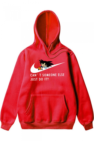 Funny Letter CAN'T SOMEONE ELSE JUST DO IT Casual Loose Hoodie