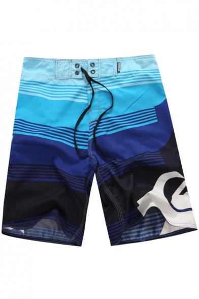 Fashion 3D Printed Mens Summer Surfing Shorts Quick-Dry Beach Swim Trunks