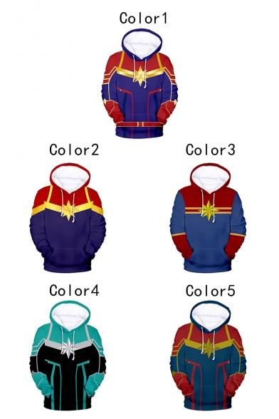 3D Printed Cosplay Costume Long Sleeve Casual Sport Pullover Hoodie