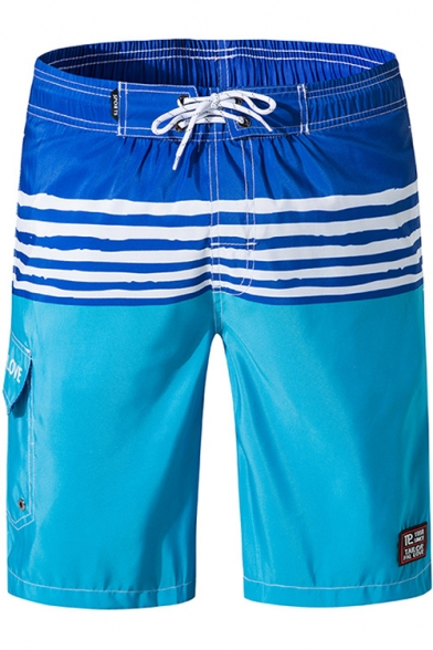 Men's Summer Holiday Quick-Dry Relaxed Loose Swim Trunks