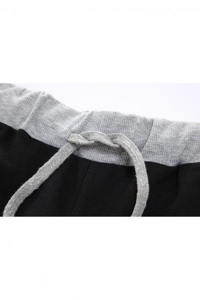 Totoro Comic Printed Drawstring Waist Summer Sport Cotton Sweat Shorts