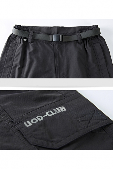 Summer Mens Cycling Casual Quick-Dry Outdoor Running Fitness Athletic Shorts Cargo Shorts