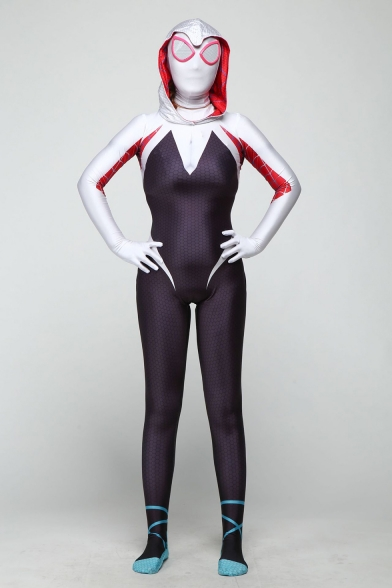 Cosplay Costume Slim Fit Tight Jumpsuits for Adults