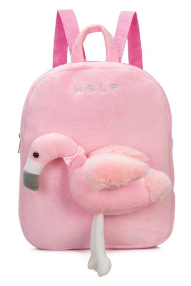Cute Cartoon Goose Shaped Pink School Bag Backpack for Kids 25*6*31 CM -  Beautifulhalo.com