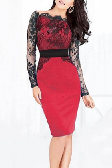 Summer Cool Girls Punk Style Halterneck Stylish Hollow Out Lace-Up Side Mini Bodycon Black Dress