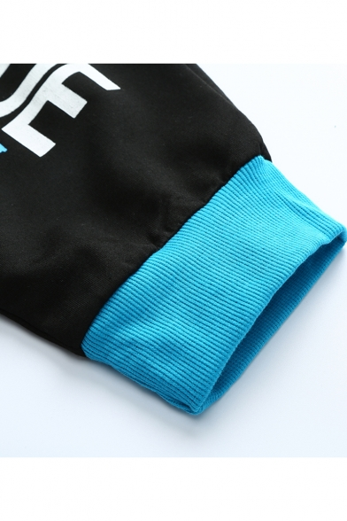 New Fashion Letter Printed Embroidery Detail Contrast Drawstring Waist Casual Sweat Shorts for Men