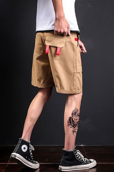 Men's Summer Fashion Patchwork Casual Sports Cargo Shorts