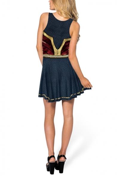 Halloween Cosplay Costume Mini A-Line Tank Dress
