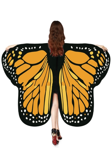 Halloween Series Unique Butterfly Wing Cape Poncho for Adult