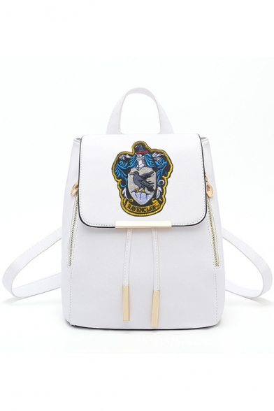New Fashion University Badge Patched Traveling Bag Backpack 13inch