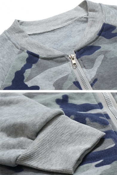 Solid Color Tied Front Long Sleeve Zip Up Drawstring Hoodie with Pocket