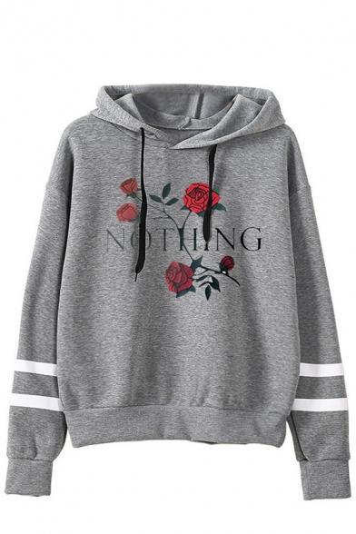 Women Print Hoodie Crop Tops Fashion Long Sleeve Blouse Girl Animal Pattern Pullover Sweatshirt Tops with Drawstring
