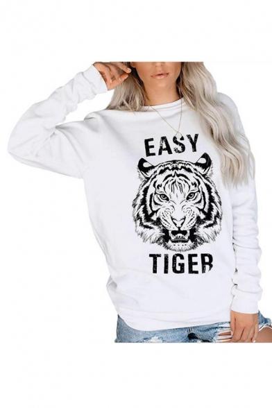 Easy Tiger Crop Hoodie